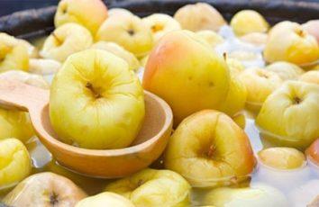 Моченые яблоки — 2 забытых старинных рецепта