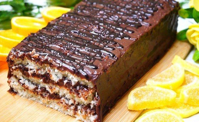 Кокосовый торт без грамма муки