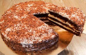 Простой и вкусный домашний тортик